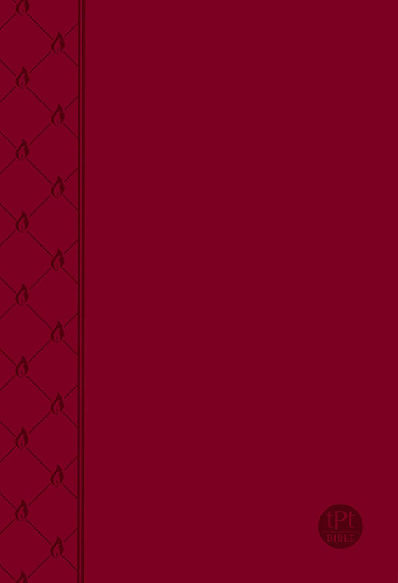 Passion Translation Bible - Red - Faux Leather