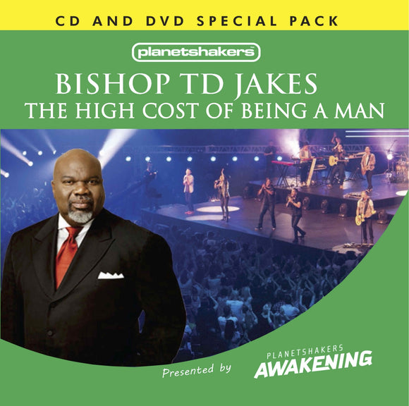 Bishop TD Jakes - The High Cost of Being a Man (CD and DVD)