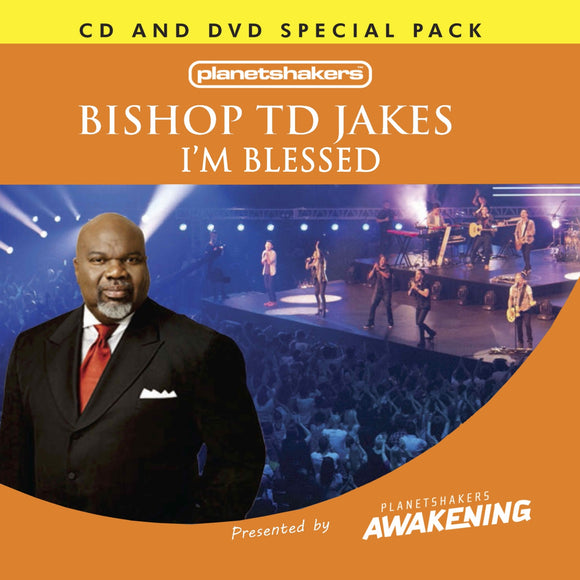 Bishop TD Jakes - I'm Blessed (CD and DVD)