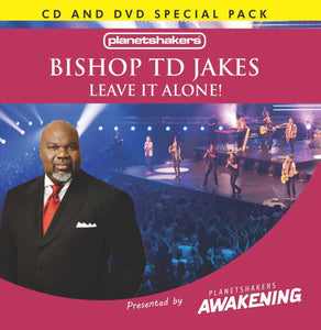Bishop TD Jakes - Leave it Alone! (CD and DVD)