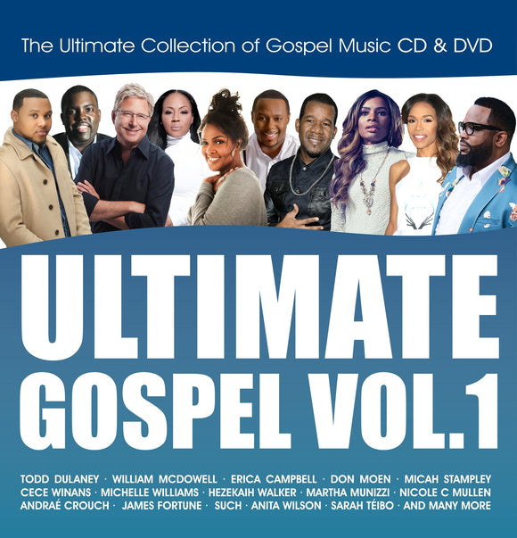 Ultimate Gospel Vol.1 (CD & DVD)