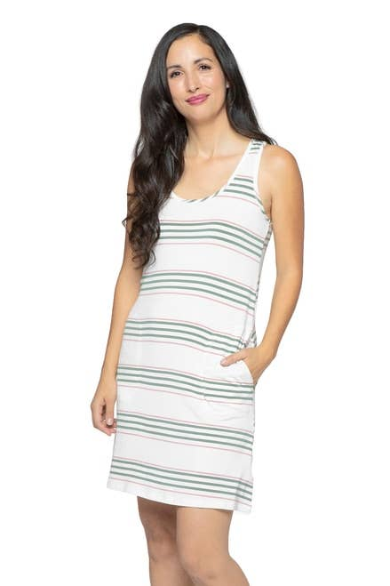 YALA - Desert Stripe Riley Dress