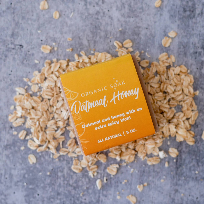 Organic Soak - Oatmeal Honey All Natural Bar Soap
