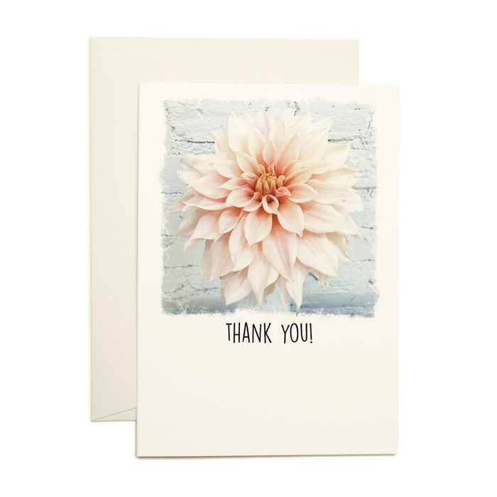 Paperlove Boutique - Thank You - Blush Dahlia