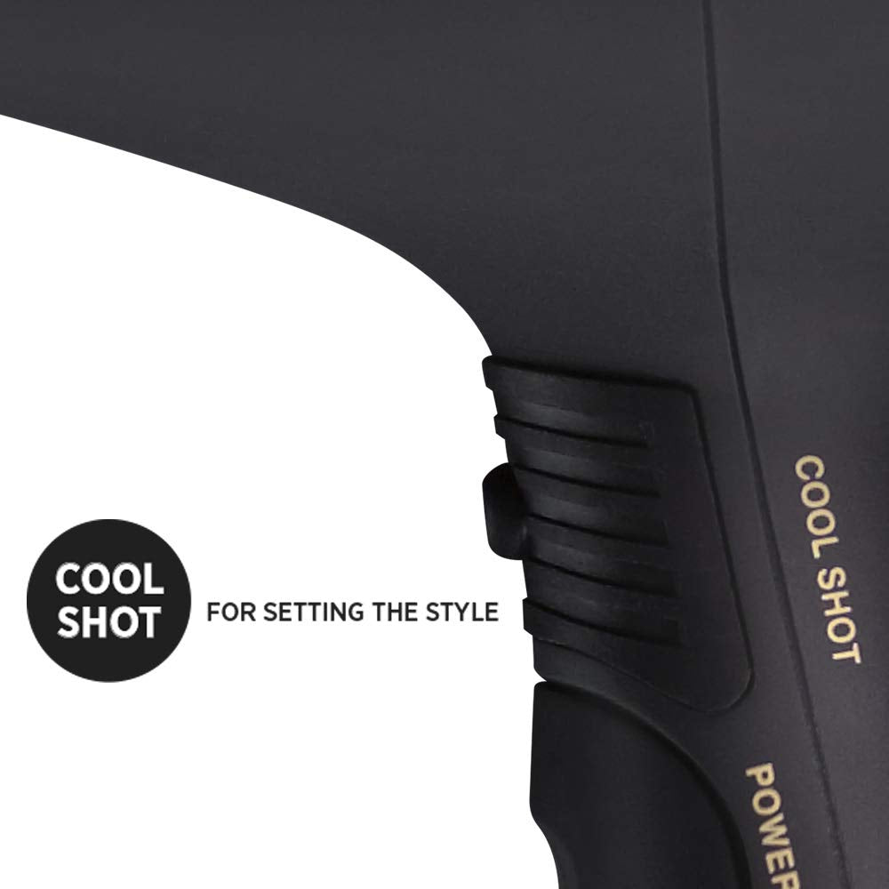 Hot Tools Professional 1875W Black Gold Turbo Ionic Dryer