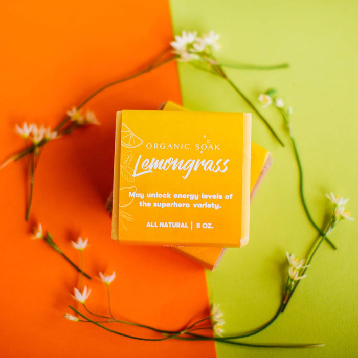 Organic Soak - Lemongrass All Natural Bar Soap