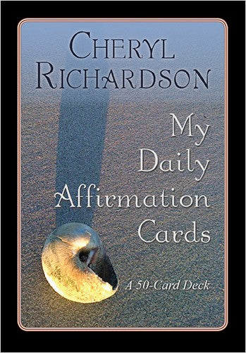 My Daily Affirmation Cards by  CHERYL RICHARDSON