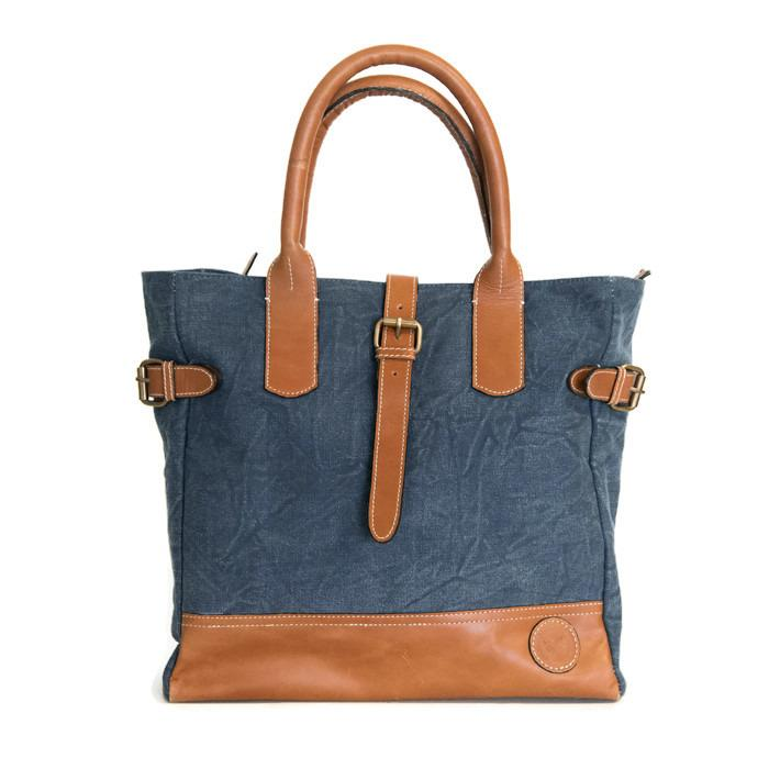 Blue Toulouse Handbag