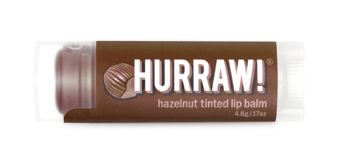 hurraw hazelnut tinted lip balm