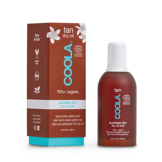 40% off at checkout!  COOLA ORGANIC SUNLESS TAN DRY OIL MIST