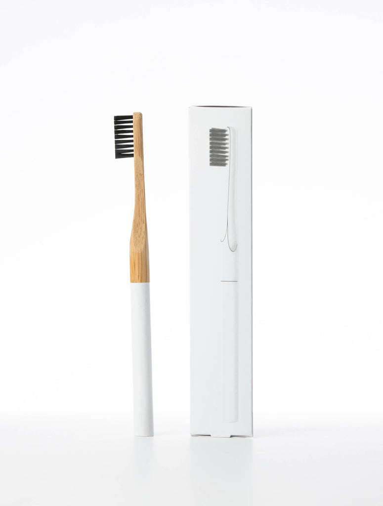 Terra & Co. - Bamboo Toothbrush with Activated charcoal