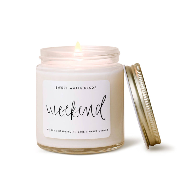 Sweet Water Decor - Weekend Mini Soy Candle