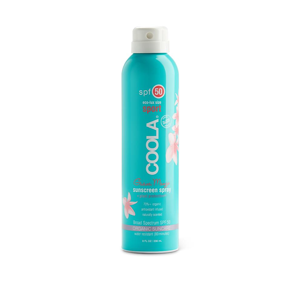 COOLA ECO-LUX SPORT SPRAY 50 SPF- available for pre-order