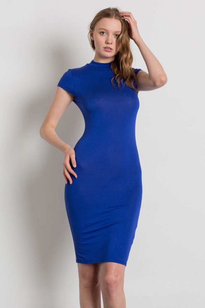 Vibrant Bodycon Dress