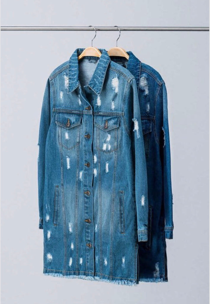 Long Denim Jacket