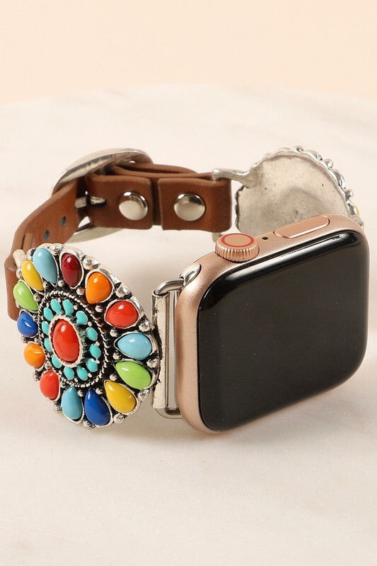 Western Style iWatch Band