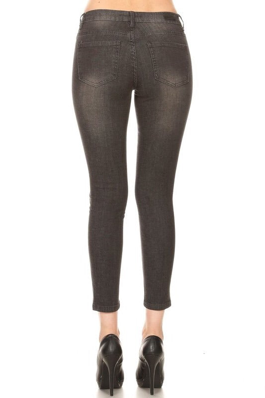 Charcoal Black Jeans
