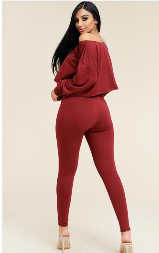 Long Sleeve Pant Set