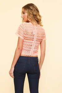Lace Crop Top
