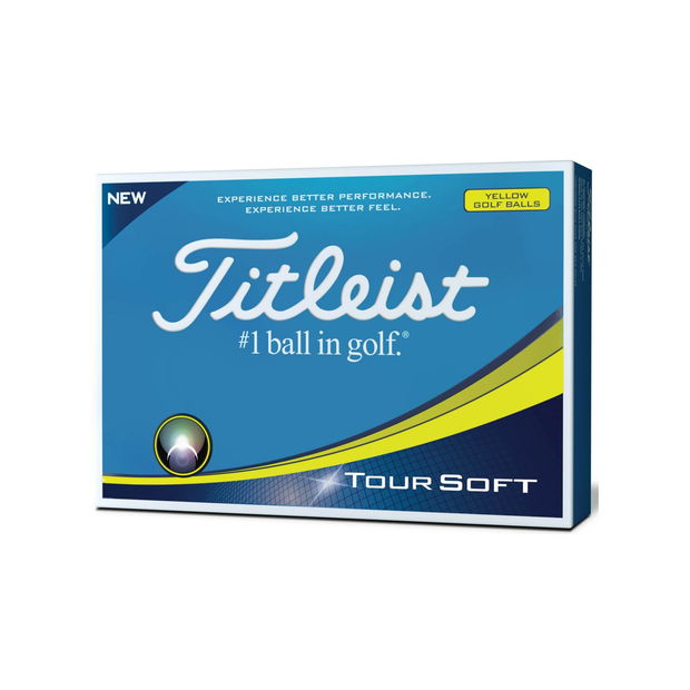 Pelotas Titleist Tour Soft Yellow