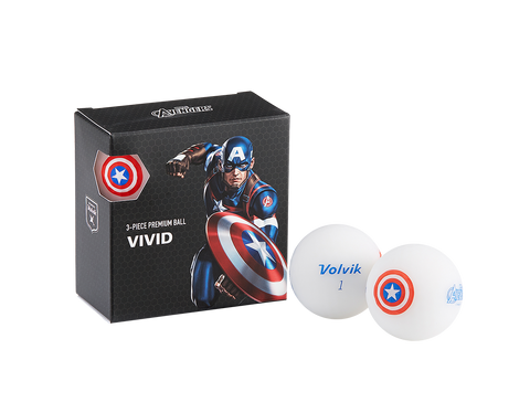 Pelotas Marvel X Volvik Square Pack Captain America