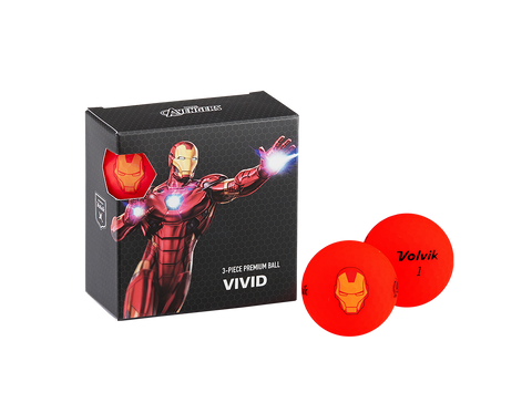 Pelotas Marvel X Volvik Square Pack Iron Man