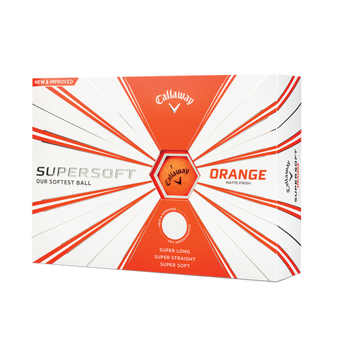 Pelotas Callaway SuperSoft Matte Orange