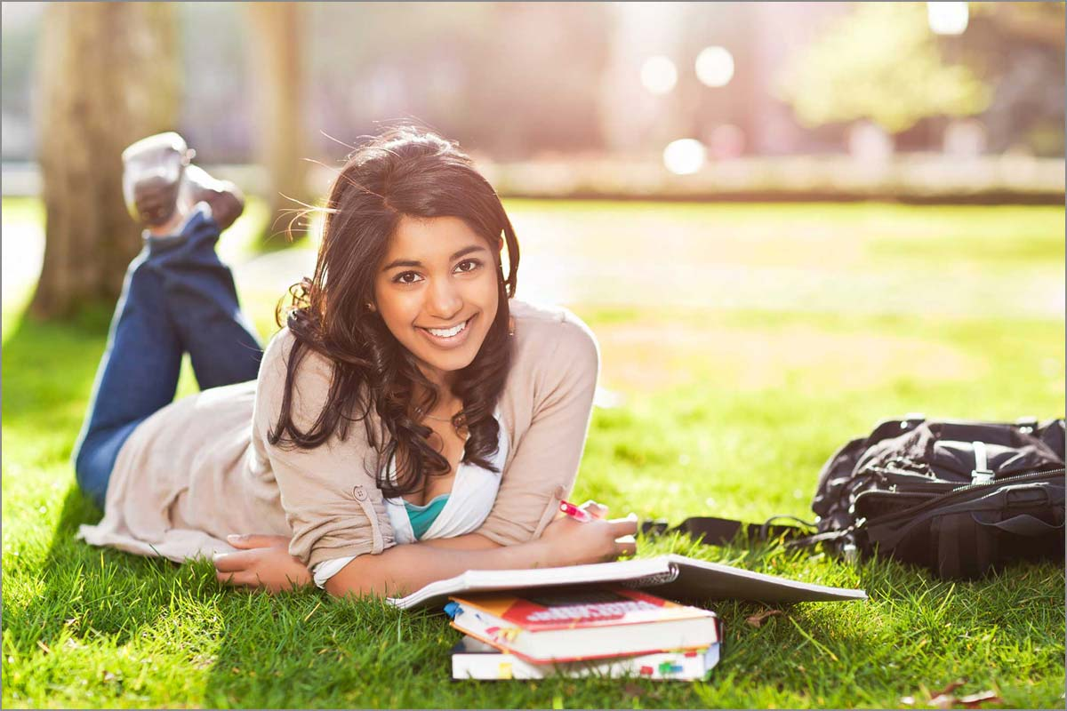 Visiting colleges before applying can be helpful.