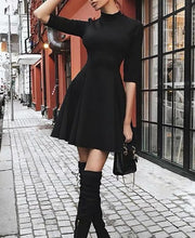 Black dress women