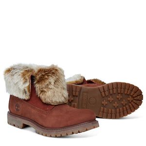 Women's Authentics Faux Fur Boots Greige  Women's Authentics Faux Fur Boots
