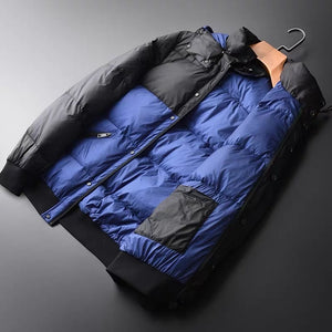 Black and dark blue jacket high quality