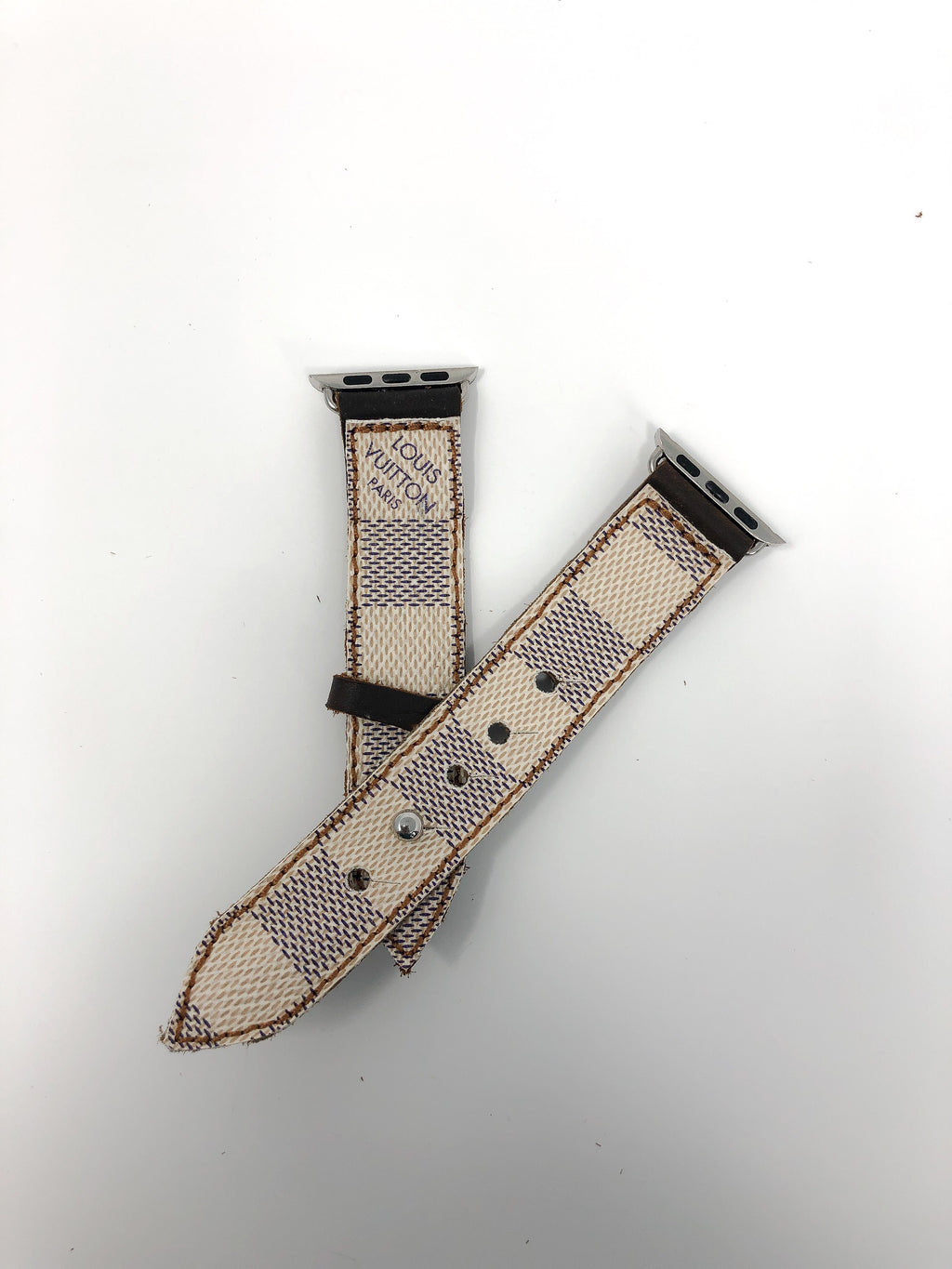 Louis Vuitton Damier Azur Apple Watch Band