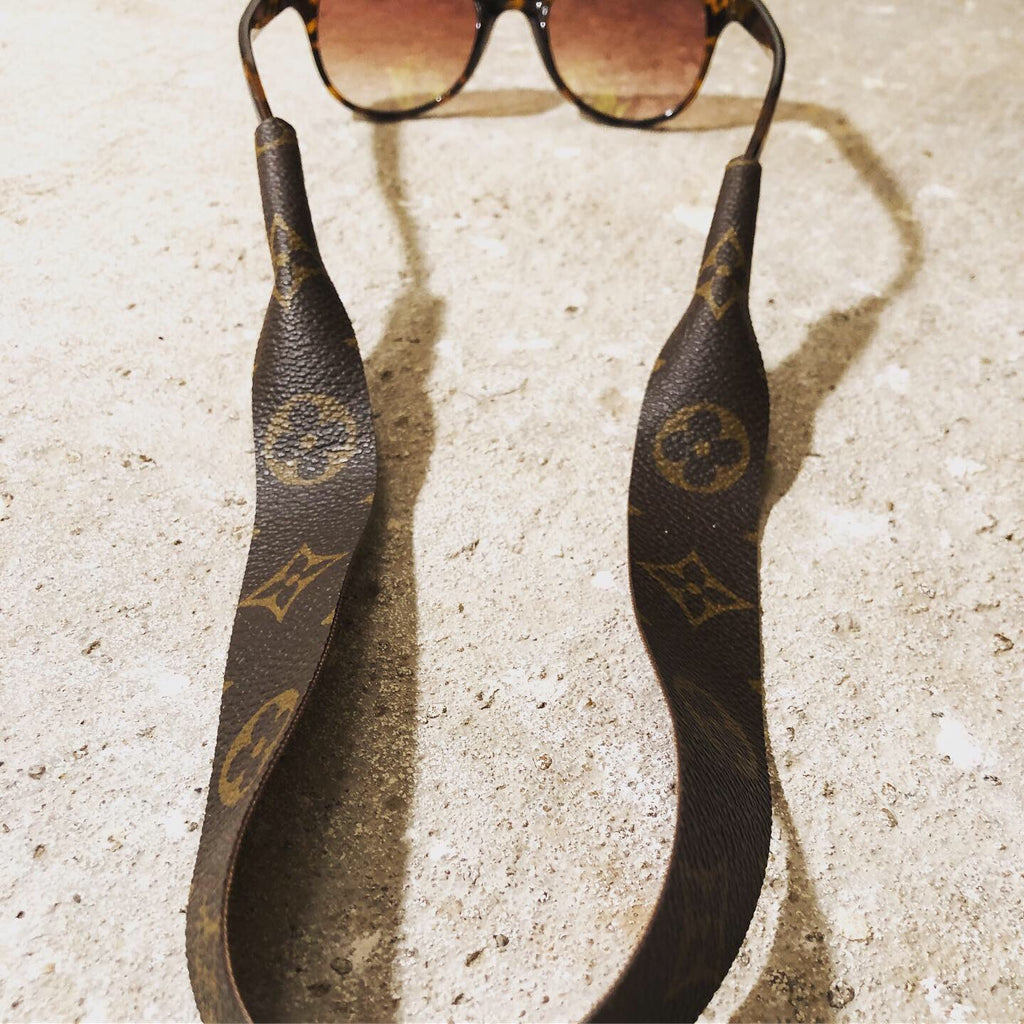 Upcycled Louis Vuitton Sunglasses Strap
