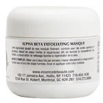 Alpha Beta Exfoliating Masque - Essence de Beauté