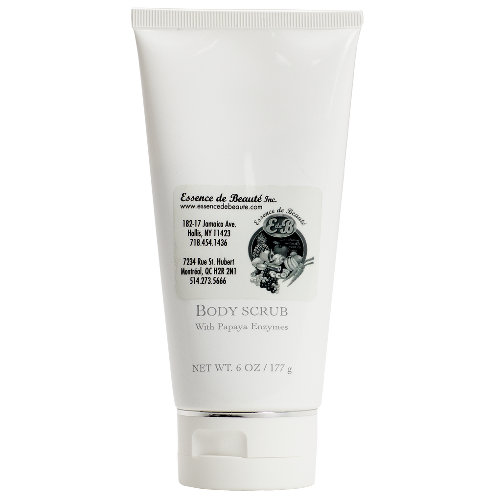 Body Scrub With Papaya Enzyme - Essence de Beauté