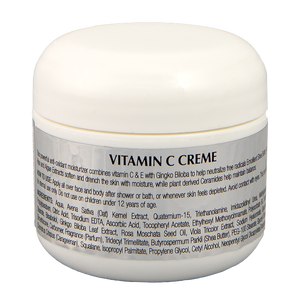 Vitamin C Crème with Gingko Biloba - Essence de Beauté