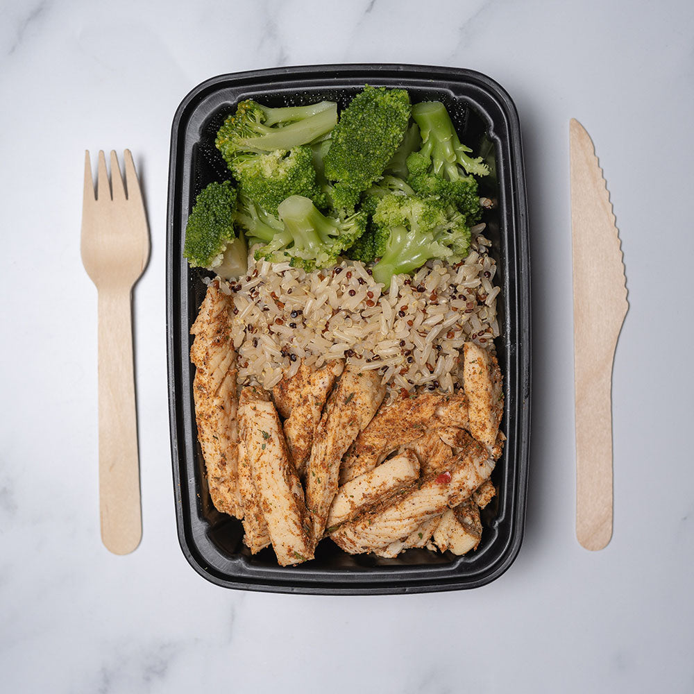 New Meal Spotlight: Jerk Chicken & Brown Rice/Quinoa