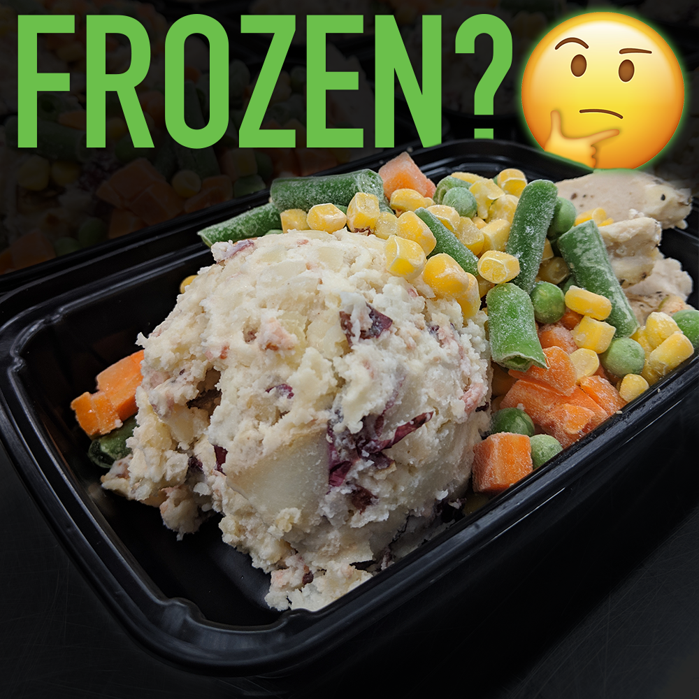 Why We Use Frozen Veggies