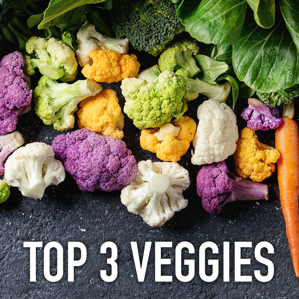 Top 3 Nutrient-Packed Vegetables