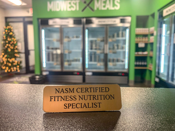 Midwest Meals NASM Certified Fitness Nutrition Specialists