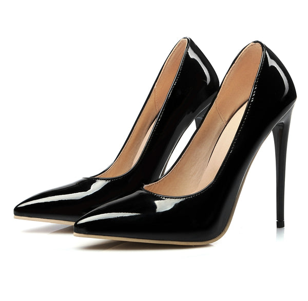 Black Classic Stiletto Pumps