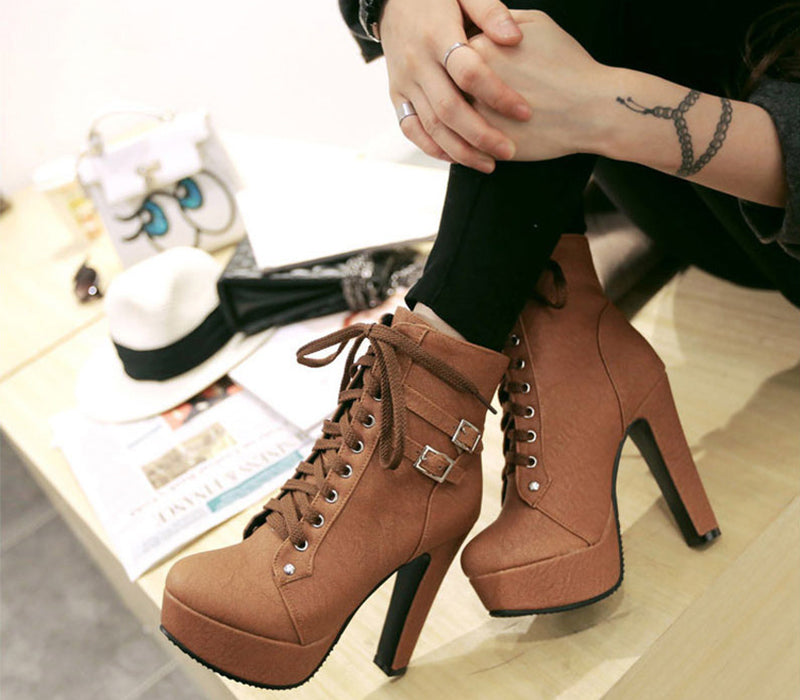 Work Boots - Brown