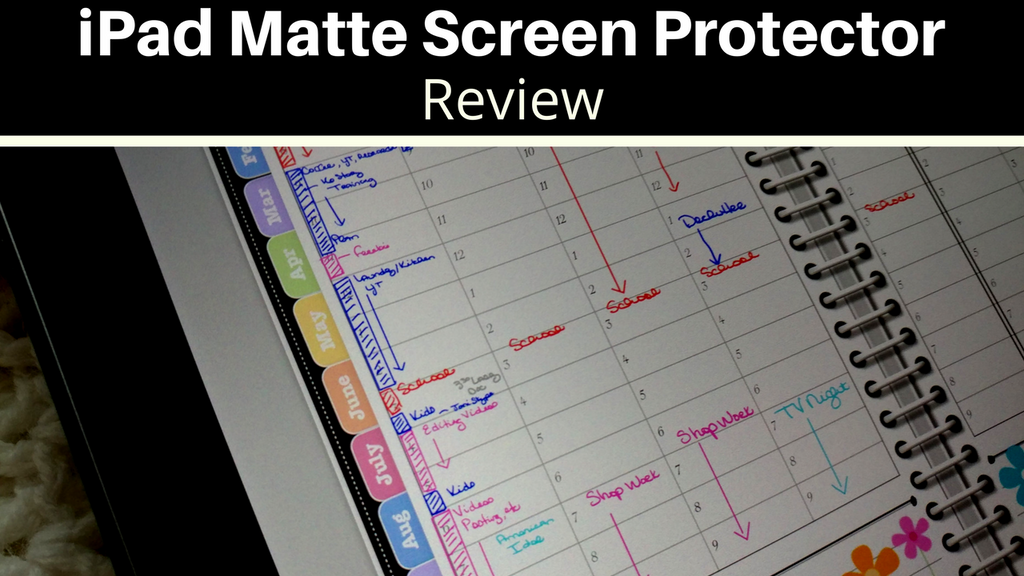 Matte Screen Protector Review - Anti Glare Screen Protector