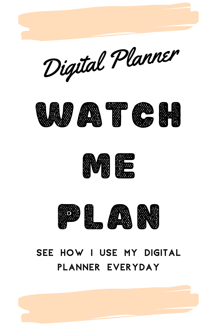 Thursday Planning - Watch Me Plan