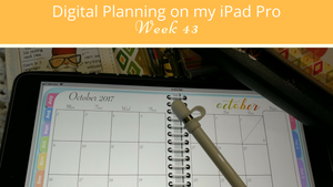 Planning my Week in GoodNotes With The Digital Awesome Planner
