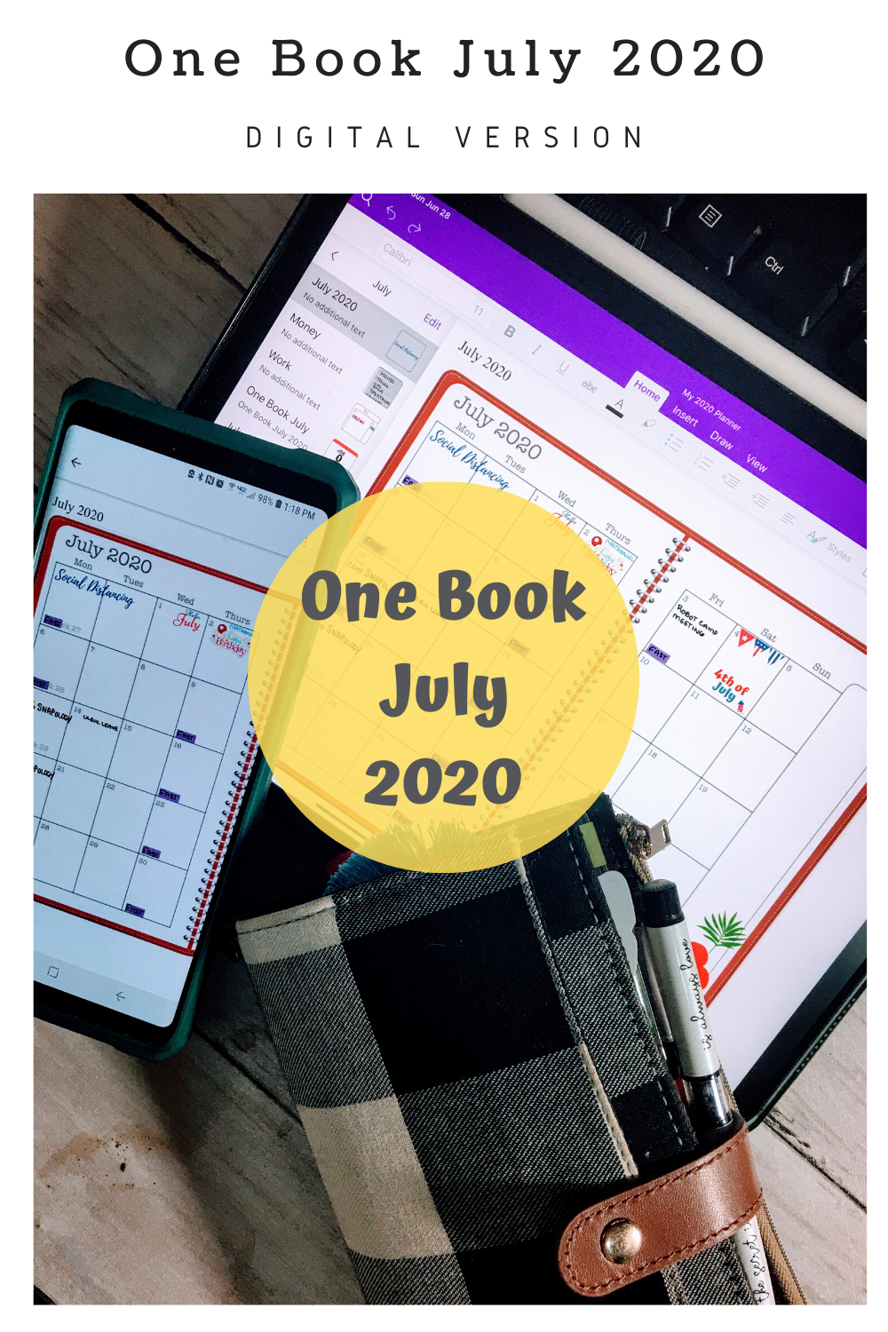 One Book July 2020 Challenge