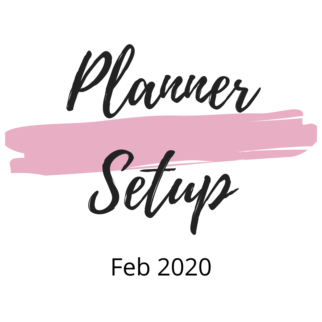 February Setup in My OneNote Planner