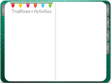 GoodNotes Holiday Planner - Digital With December Daily - Green Metallic - Digital Planner - The Awesome Planner