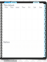 Digital Bullet Journal - Undated - Black