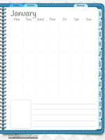 GoodNotes Digital Bullet Journal - Undated - Teal - Digital Planner - The Awesome Planner